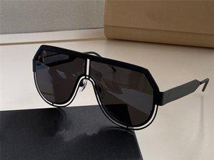 Yeni moda erkek tasarım lensler avangart popüler tarzı UV400 lensler en kaliteli kaplamalı 2231 havacı Retro çerçeveleri güneş gözlüğü