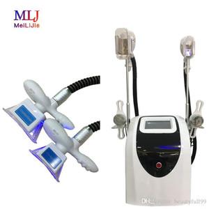 2020 Бесплатная доставка профессиональный cryolipolysis две ручки устройства портативный криотерапия похудения машина 40 к кавитации для тела