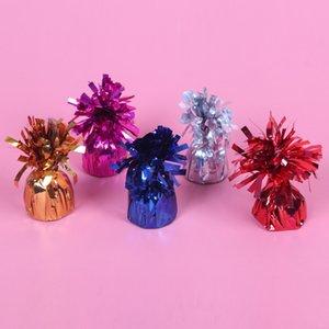 2020 Balloon Gewicht Leuchtende Farbe Geburtstag Jahrestag Valentinstag Weihnachten Hochzeit Gravity Block-Dekoration-Partei-Tassel
