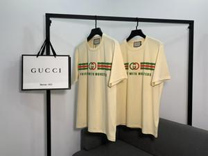 Chica 2020 venta caliente libre DesignerWomen camiseta para hombre de la manera ocasional de primavera y verano camisetas de alta calidad de lujo camiseta ZS B 20030201L