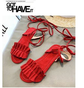 Current2019 wird Rome Code Woman Back Bandage Student Sandals beschuhen