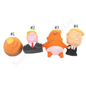 Donald Trump stress squeeze balle géante Squishy Jouet Nouveauté pression Relief Doll Creative PU squeeze Fun Joke Prop cadeaux pour enfants Jouets D11402
