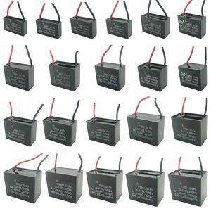 Cbb61 450 v 1uf ~ 6uf Terminal Deckenventilator Motor Lauf Rechteck Kondensator
