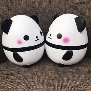 US STOCK 2018 Newest Hot Kawaii Jumbo Panda Squishy Soft Doll Collectibles Cartoon Super Slow Rising Cute Party Supplies