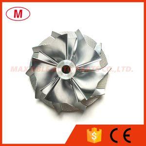 GT15-25 44.50 / 60.01mm 5 + 5 lâminas de Alta Performance Turbo Billet Compressor de roda / Alumínio 2618 / Fresadora roda do compressor