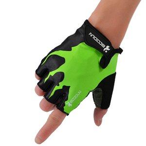 Hommes Femmes Half Finger Fitness Gants Poids Gants de levage Protect poignet Gym Sport Haltérophilie Formation Fingerless