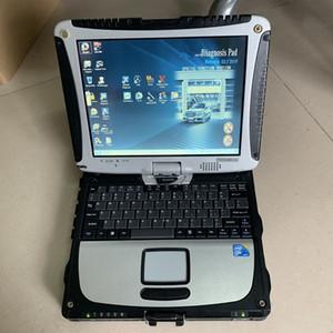 mb estrela c3 hdd 120 gb com laptop cf19 touch screen computador estrela diagnóstico dhl free pc