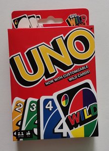 UNO Card Games Wild DOS Flip Edition Board Game Card Deck 2-10 Players Gathering Game Party Fun Entertainment