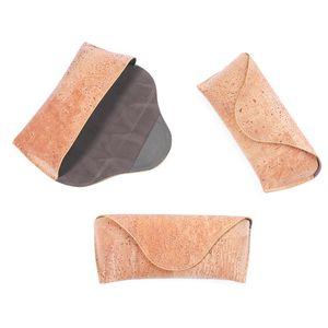 BerWer пробковый футляр для очков cork Box Деревянное зерно Солнцезащитные очки Чехол для очков CORK Чехлы для лазерных логотипов