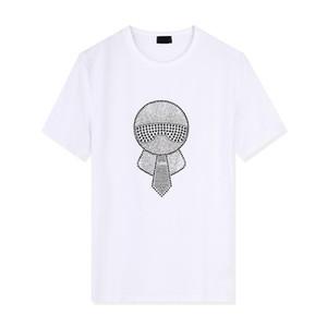 Mens Designer T Shirts Fashion Mens Clothing 2020 Summer Casual Streetwear T Shirt Luxury letter print Crew Neck Short Sleeve S-3X