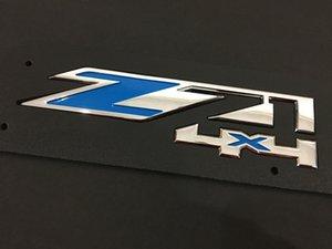 Big Z71 4x4 Emblem ABS Abzeichen für Chevy Silverado Sierra Suburban Auto-Heck-Tor-Aufkleber