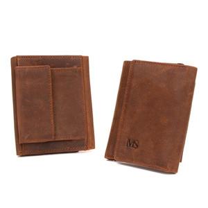 Gorgeous2019 Short Man Fund La sección vertical del monedero de posición de múltiples tarjetas Will Package Card Package Group Tw1666.