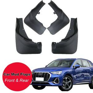 Tommia per Audi Q3 2019 Fango auto agita il parafango parafango paraspruzzi 4pcs ABS anteriore del parafango posteriore