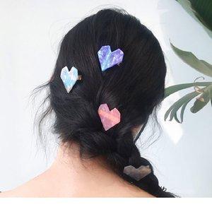 Heißen Verkauf-netter Haar-Klipps für Mode Mädchen Acetic Kristallspange Hairpin Leopard Hair Styling-Zubehör
