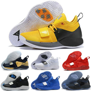 2018 Nouvel arrivage Réel Version de combat PG 2.5 PlayStation Taurus Road Master Chaussures de basketball Paul George PG2.5 PS Sport Sneakers Taille 40-46
