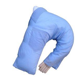 LanLan Cute Boyfriend Arm Body Shape Throw Pillow Bed Cushion