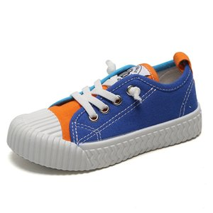 2020 New Children's Shoes Unisex Fashion Sneakers Light Canvas Casual Shoes New Retro Biscuit For Kids