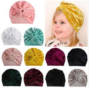 New Unisex Baby Cap Beanie Boy Girl Toddler Infant Children Velvet Soft Cotton Cute Hat Kids Newborn Cap