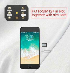 10 STÜCKE OEM RSIM12 + Entsperren SIM-Karte für iPhone 5 6 7 8 Plus X XR XS Max Karte Universal für iOS12.3