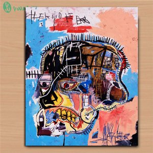 Jean Michel Basquiat Untitled Head,HD Canvas Printing New Home Decoration Art Painting (Unframed Framed)