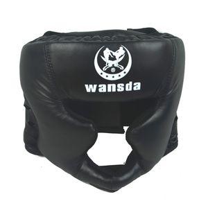 Boks Kask Koruyucu Spor Ekipmanları Şapkalar Sahte Deri Pratik Karate Yetişkin Rekabet Baş Muhafız Savaş Sanatı