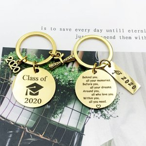 2020 Graduation Gifts Behind You All Memories Before You All Your Dream Graduation Keychain Inspirational Graduates Gifts