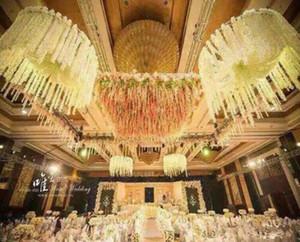 2 Mt lange Elegante Künstliche Orchidee blume Glyzinien Reben Rattan Für Hochzeitsdekorationen blumengirlande Hause Ornament