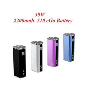 Vape OLED Ekran 2200mAh Elektronik Sigara Pil VV VW kutusu Mod ile Mini 30W Mod vape Pil kartuşları