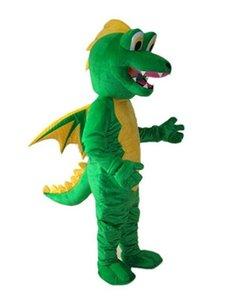 2019 High quality Dinosaur Fire Breathing Dragon Mascot Costume Fancy Party Dress Halloween Carnival Costumes Adult Size