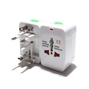 Hot All in One Universal International Plug Adapter World Travel AC Power Charger Adaptor Socket with AU US UK EU NZ converter Plug