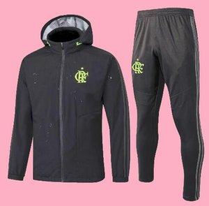 Nuovo 19 20 flamengo Windbreaker tute maglia con cappuccio 2019 giacca 2020 GUERRERO DIEGO maglia da calcio sport calcio