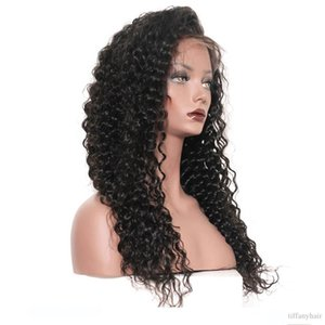 360 wigs 360 Parrucche Del Merletto Per Le Donne Nere Onda Profonda 130 150 Densità 360 veletta Frontale Parrucche Pre Pizzicate Vendita Diretta Della Fabbrica Capelli Brasiliani