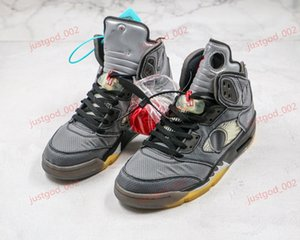 xshfbcl 2020 New Men 5S Basketball Shoes Off 5 white sports high quality sneakers designer trainers