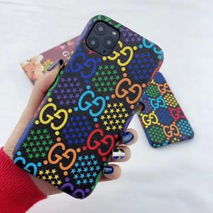 2020 nuova cassa del telefono mobile di disegno di marca lettera di colore per un massimo di copertina iphone Xs max XR X 11 11Pro 7 7plus 8 8plus 6 6plus difficile