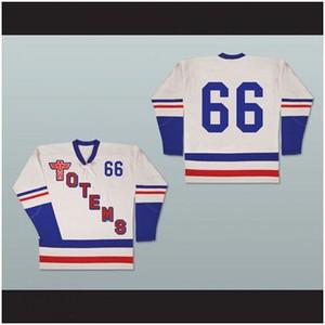 Dimensioni Seattle Totems Old School Hockey Jersey Uomini Custom XS-5XL Qualsiasi Numero Nome e trasporto libero