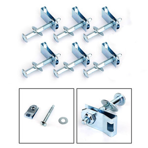 Areyourshop Bed Mounting Hardware 6 Bolt Set Kit For ford F150 6 7 2005-2013 Foot Bed Car Hardware 924-313 Car Auto Accesories Parts