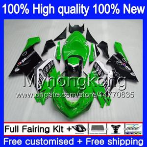 Körper für KAWASAKI ZX600 ZX 6R 600cc 6 R ZX636 2005 2006 210MY.126 ZX636 600 CC ZX6R 05 06 ZX600 ZX 636 ZX6R 05 06 Stock grün Verkleidungs
