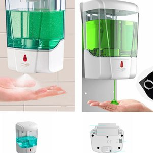 700 ml automático dispensador de jabón sin contacto de uso de alcohol dispensador Home Hotel Escuela de desinfectante de manos Dispensador LJJK2451