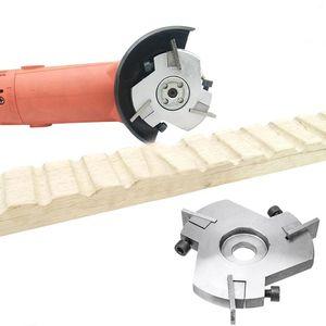 Ağaç Taşlama Disc için Taşlama Üç bıçak Spatula Kesici Aracı Oyma 80-90mm Güç Ahşap