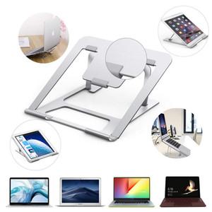 Support pour ordinateur portable Stand portable en aluminium en alliage blocs-notes pour iPad Macbook Slim portable support réglable tablette