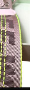 Designer Männer und Frauen Off-Schlüsselkette aus Leder Schlüsselanhänger zogenes Metall Schnalle dekorativ KEYCHAIN Kostenloser Versand