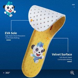 3ANGNI la mascota EVA Plantillas de calzado Mujer Hombre Asimetría Amarillo Azul Honeycomb memoria plantillas de la espuma transpirable Inserciones del cojín del zapato
