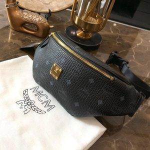 New Fanny Pack Bumbag Sacs de ceinture de qualité supérieure avec lettre imprimée