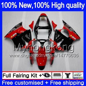 الجسم لKAWASAKI ZX600 600CC ZZR600 2005 2006 2007 2008 هيكل السيارة أحمر حار أسود 219MY.145 ZX600CC ZZR600 ZZR 600 05 06 07 08 هدية كاملة