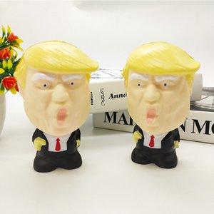 New Donald Trump Squishy Toy Antistress Antistress Spremere lento Giocattolo morbido morbido Squishy Trump Giocattoli divertenti HHA497