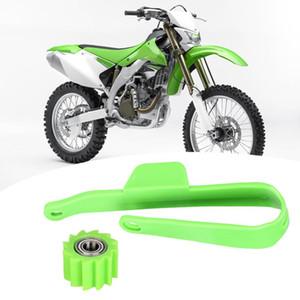 ATV KLX 피트 레이싱 먼지 자전거의 경우 오토바이 체인 슬라이더 리어 스윙 암 보호 커버 체인 보호자,
