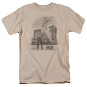 Elvis Presley T-shirt Grand Modèle pour adultes, plus grand que nature