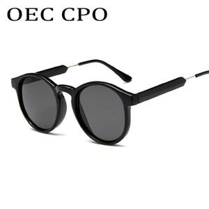 OEC CPO Top-Marken-Entwerfer-Sonnenbrille-Frauen-Männer Luxus-Runde Süßigkeiten Objektiv Lady Sun Glasse Classic Retro Goggle UV400 L06