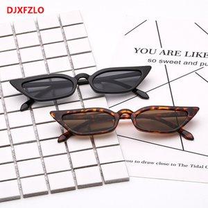 New cat eye sunglasses boutique small box glasses popular personality female models sunglasses brand design