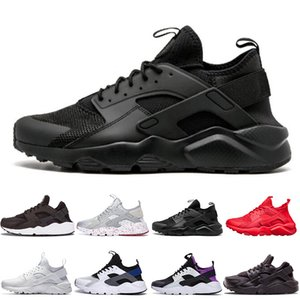 2019 nike Air Huarache 4 Männer Frauen Laufschuhe Alle Weiß Schwarz Huraches Zapatos Ultra Breathe Huaraches Herren Trainer Hurache Sports Sneakers